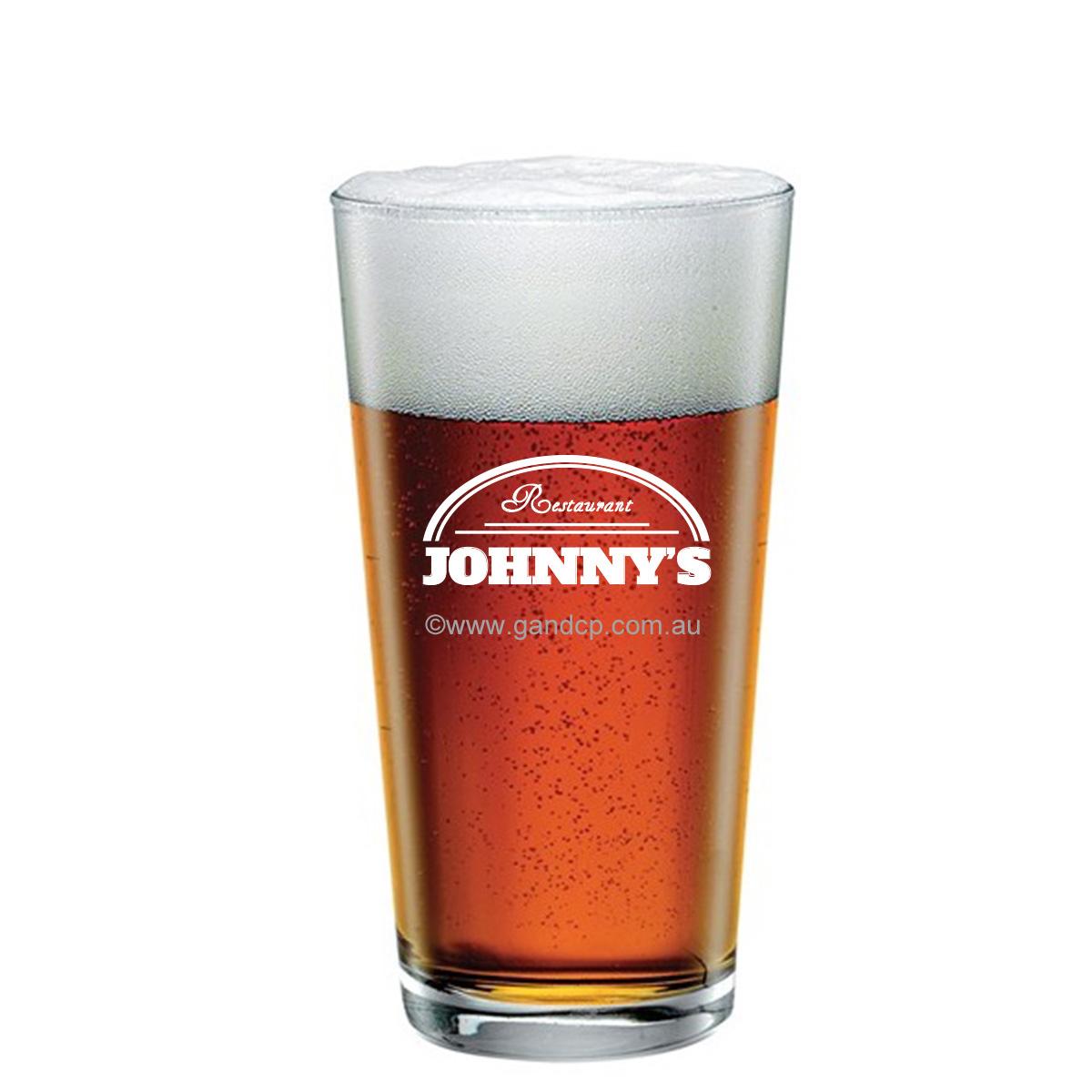 Beer Glass Printing