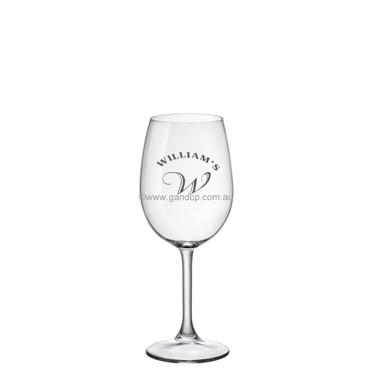 Wine Glass Printing